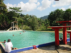 The swimming pool of Chacalapa